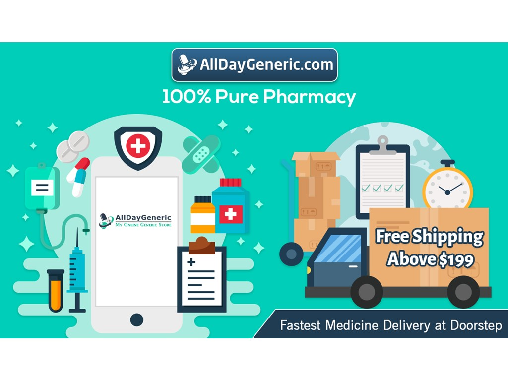second hand/new: Pharmacy, Generic Drugs, Prescription Medications - Alldaygeneric