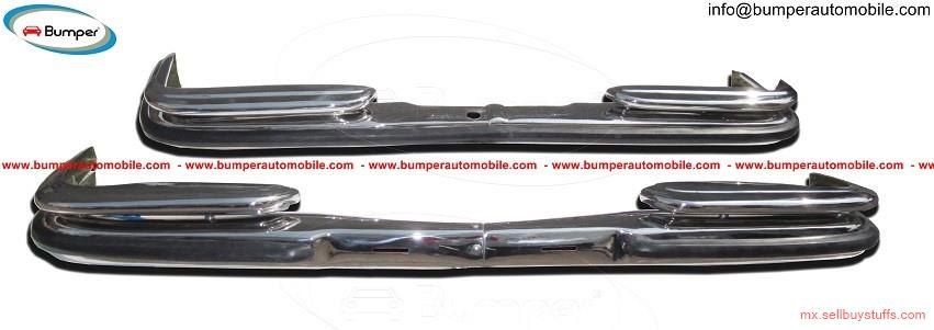 second hand/new: Mercedes W108 & W109 bumper (1965-1973) stainless steel